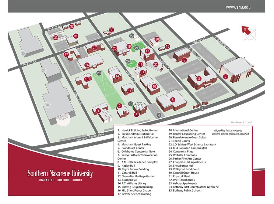SNU Campus Map