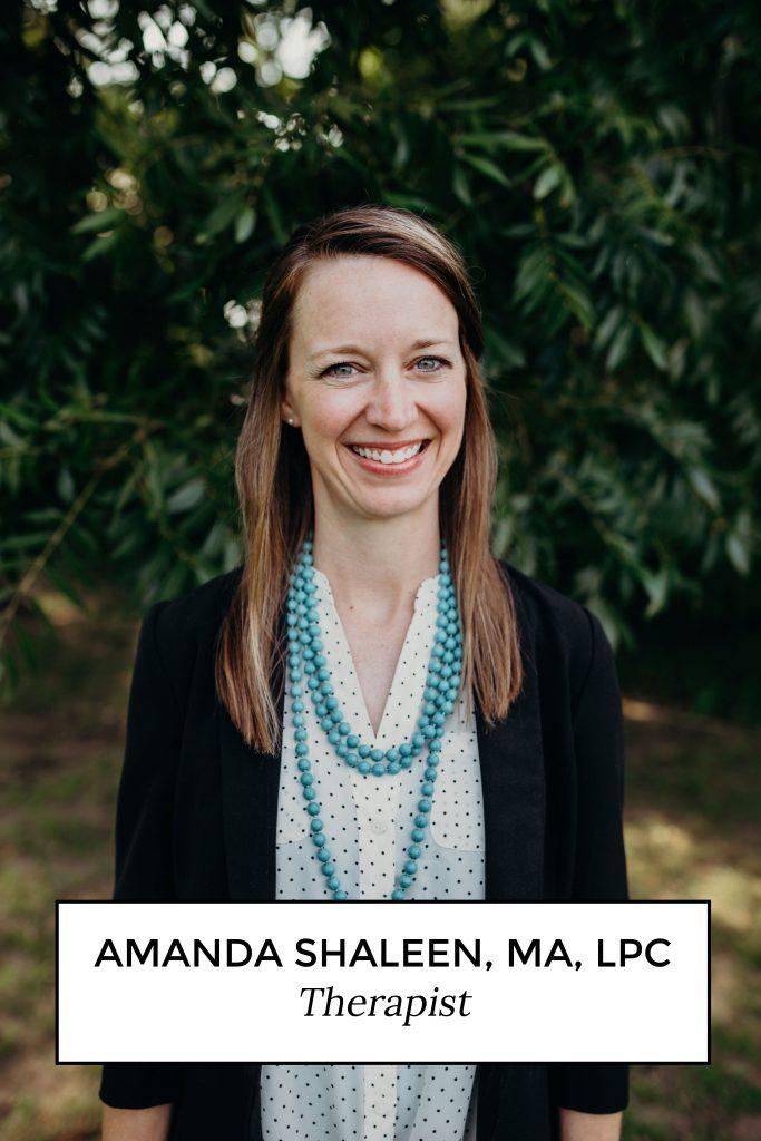 Amanda Shaleen, MA, LPC Therapist