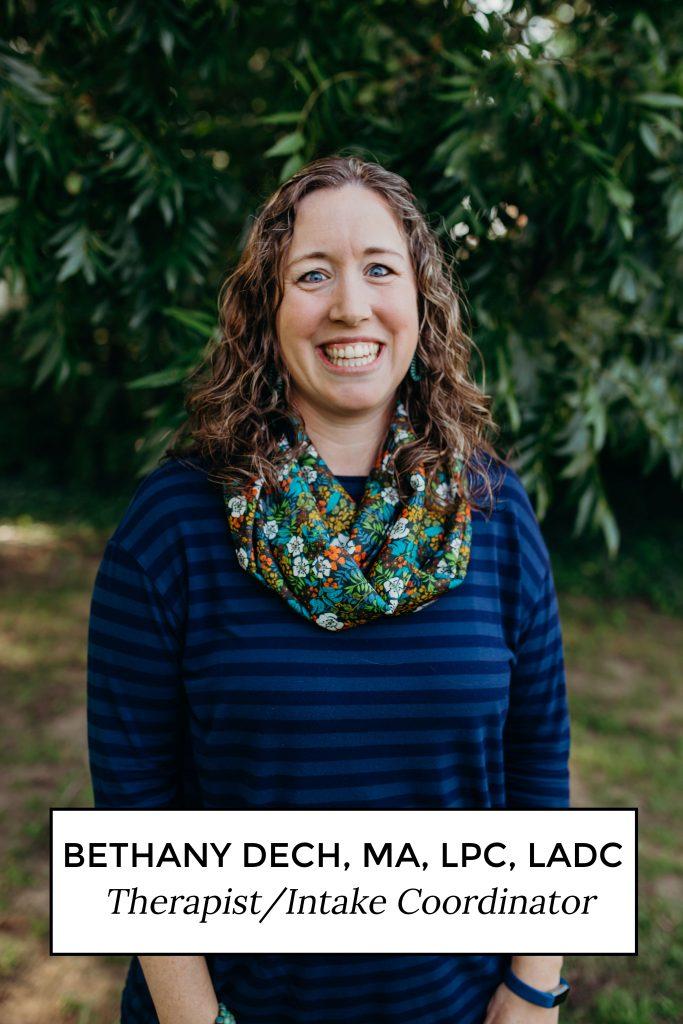 Bethany Deck, MA, LPC, LADC