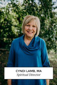 Cyndi Lamb, MA, Spiritual Director