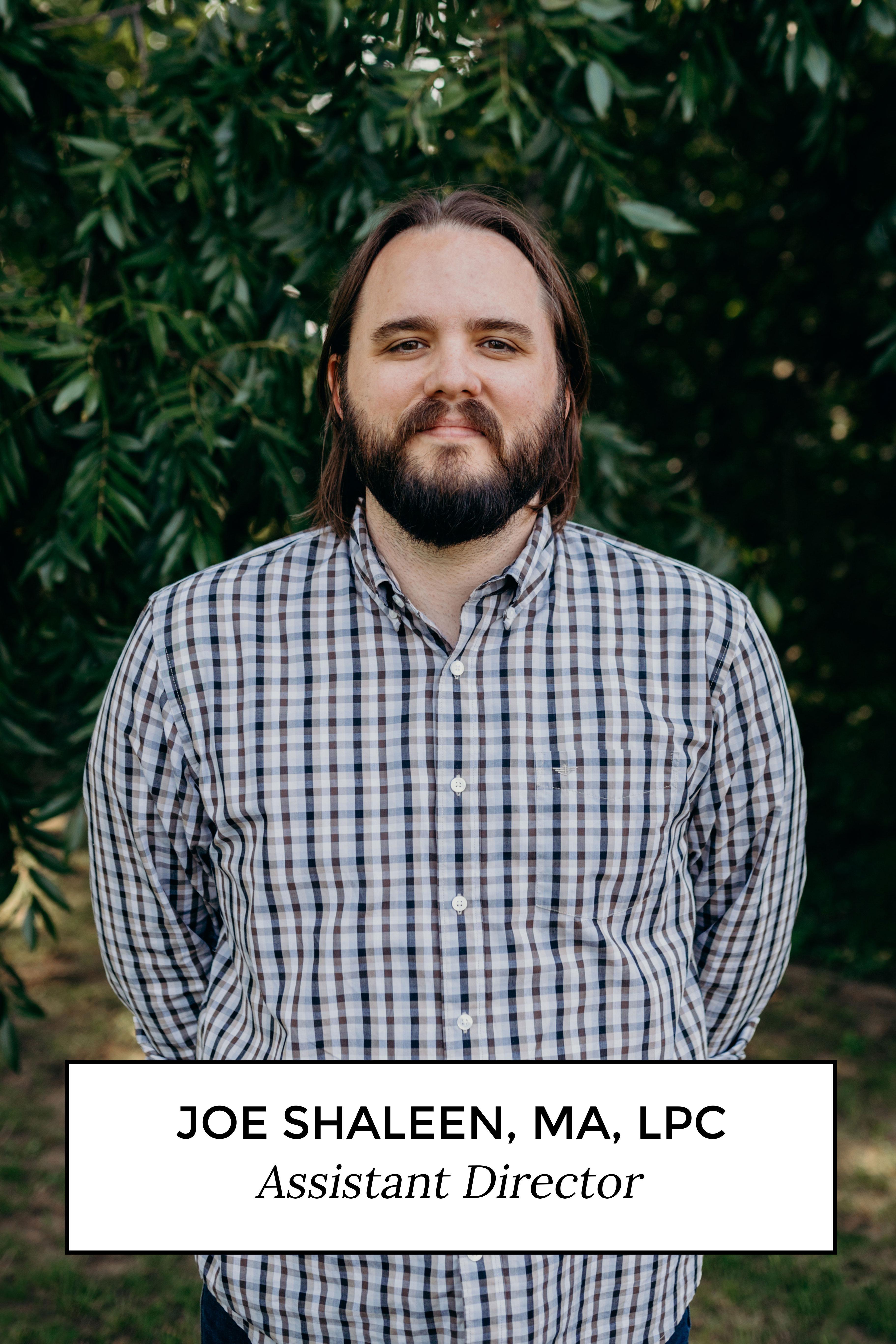 Joe Shaleen, MA, LPC - Assistant Director
