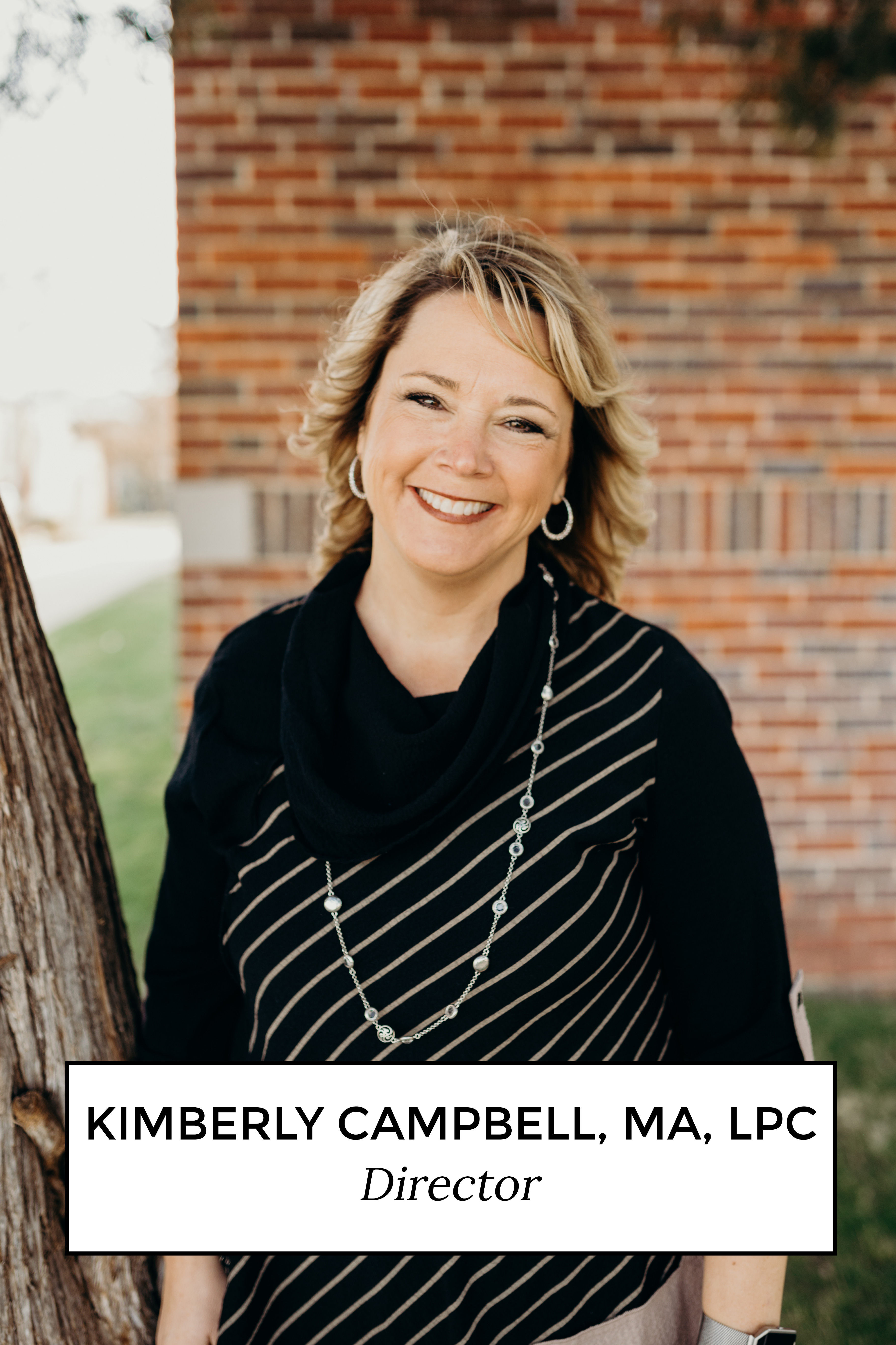 Kimberly Campbell, MA LPC Director