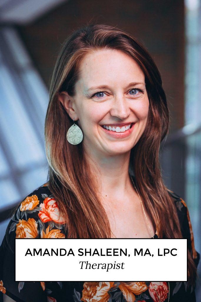 Amanda Shaleen, MA, LPC - Therapist