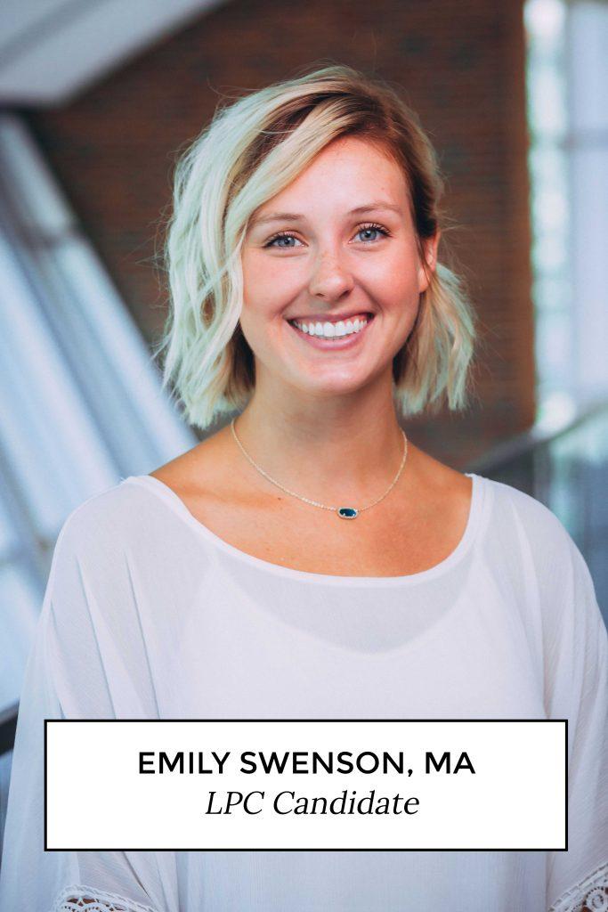 Emily Swenson, MA - LPC Candidate