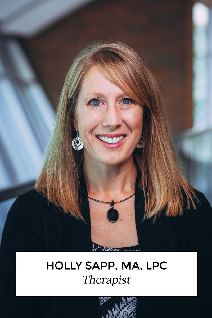Holly Sapp, MA, LPC - Therapist