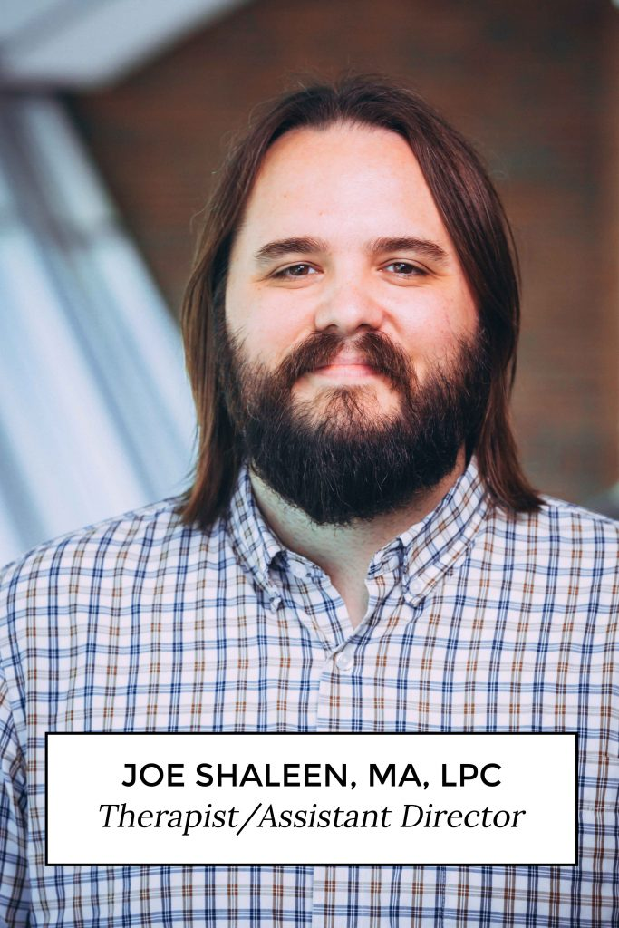 Joe Shaleen, MA, LPC - Therapist/Assistant Director