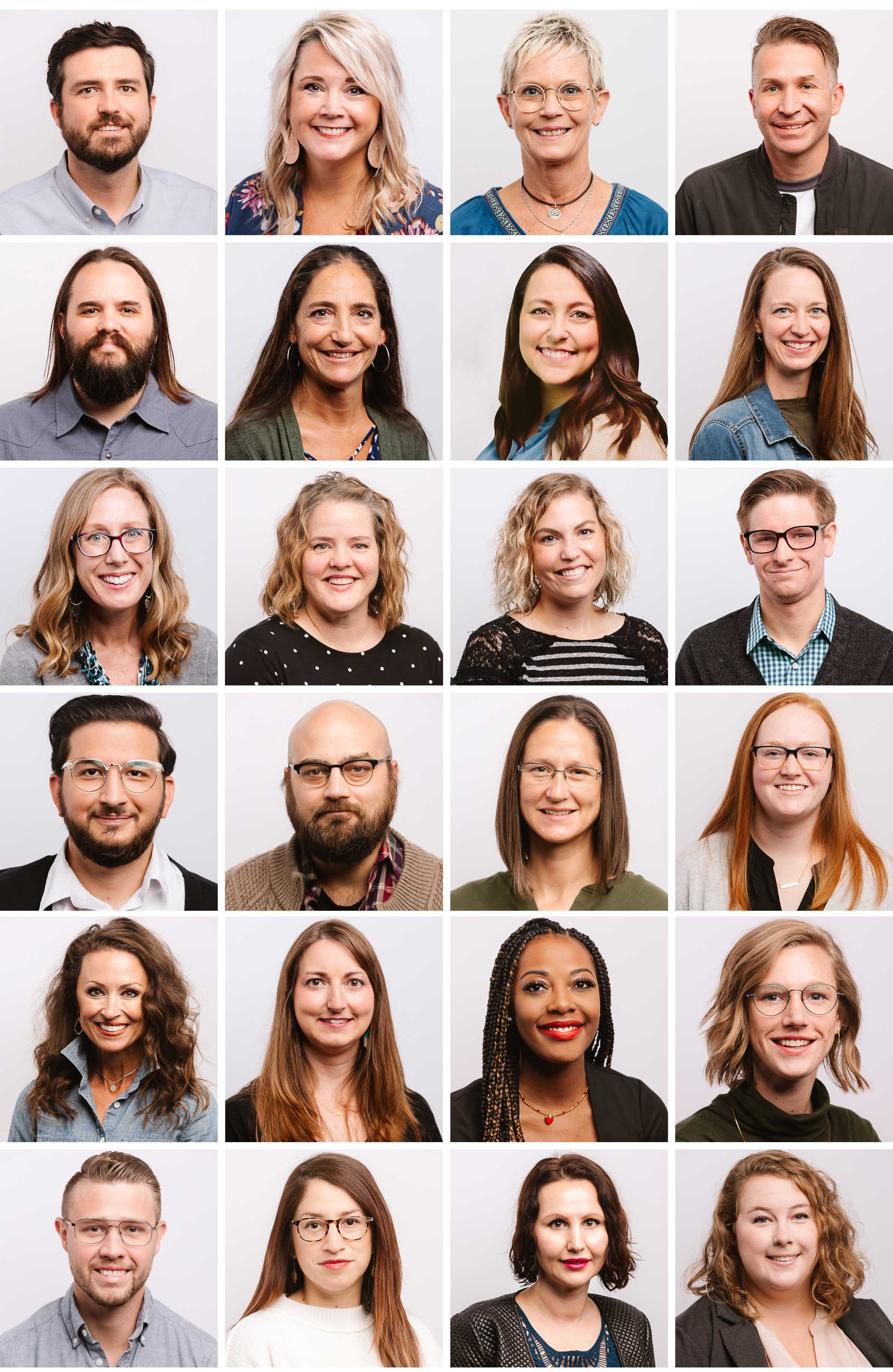 Photo of each therapist at Renew.