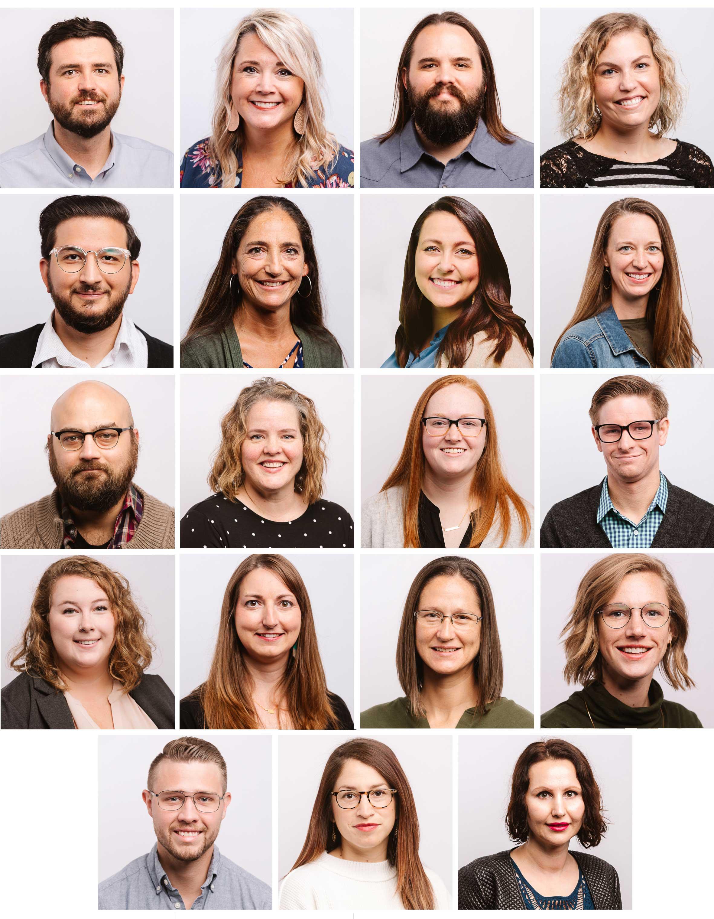 Photos of Renew's therapists